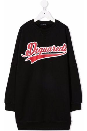 Dsquared2 Logo knit dress