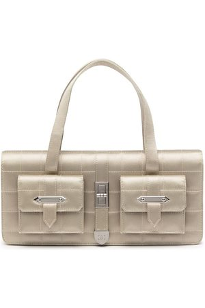 CHANEL 2003 Choco Bar handbag