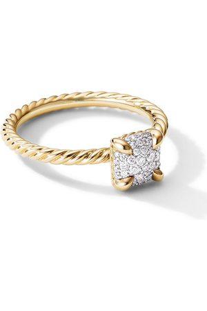 David Yurman Women Rings - 18kt yellow 7mm Châtelaine diamond ring