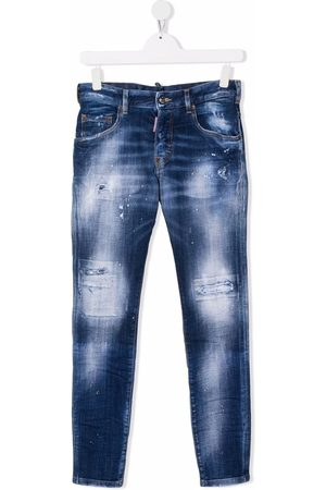 Dsquared2 TEEN mid-rise skinny jeans