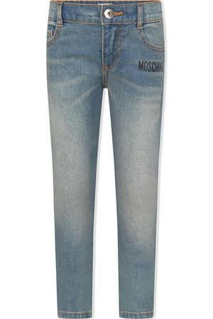 Moschino Mid-rise slim-fit jeans