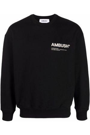 AMBUSH FLEECE WORKSHOP CREWNECK TOFU