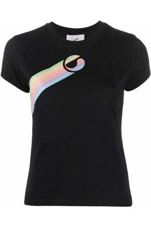 COPERNI Rainbow logo-printed T-shirt