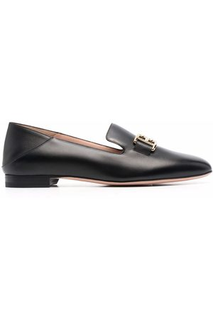 Bally Women Loafers - Logo-plaque loafers