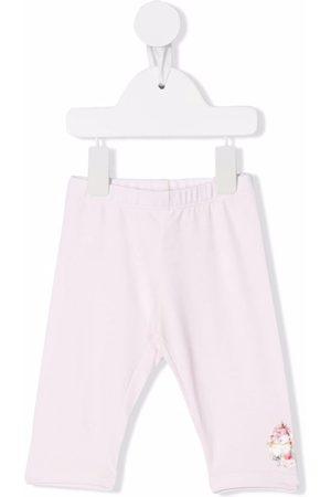 MONNALISA Cupcake-print cotton leggings