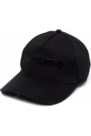 Dsquared2 Women Hats - Bead-embellished logo baseball cap