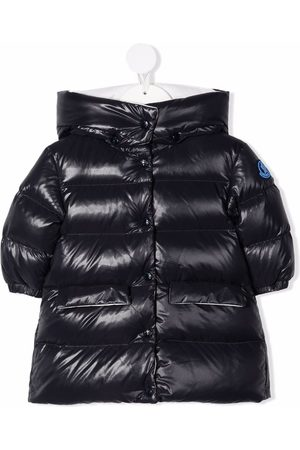 Moncler Hooded patch-detail padded coat
