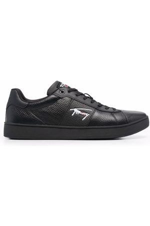 Tommy Hilfiger Leather cupsole signature trainers