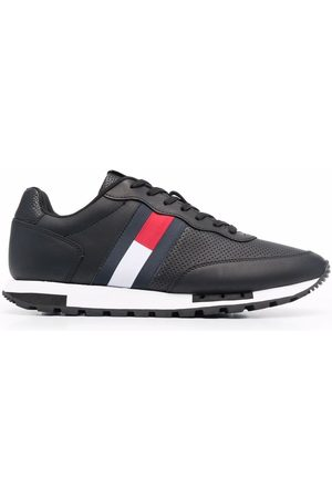 Tommy Hilfiger Retro leather runner trainers