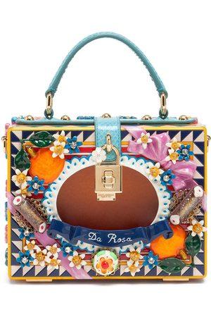 Dolce & Gabbana Embellished box-style tote bag