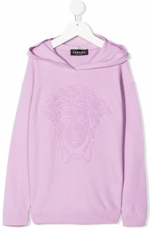 Versace Kids Medusa-head motif hoodie