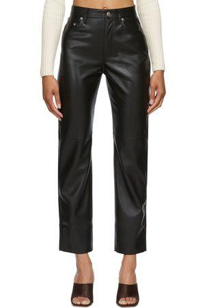 Nanushka Vegan Leather Vinni Trousers
