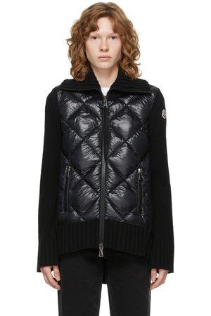 Moncler Down Paneled Turtleneck Jacket