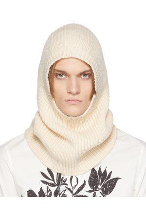 Alexander McQueen Off- Rib Knit Hood