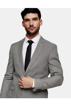 Topman Men Blazers - Skinny single breasted suit jacket in