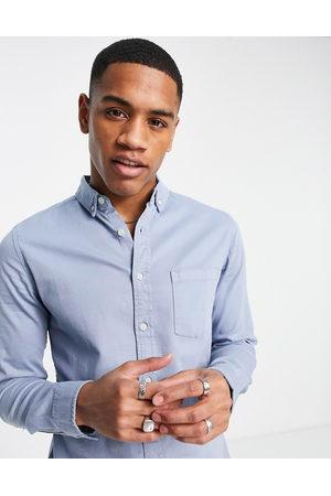 ASOS DESIGN Men Denim - Slim denim shirt in