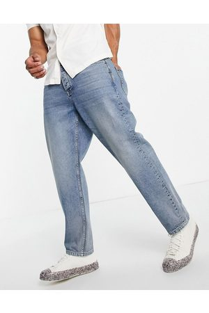 Topman Relaxed jeans mid wash