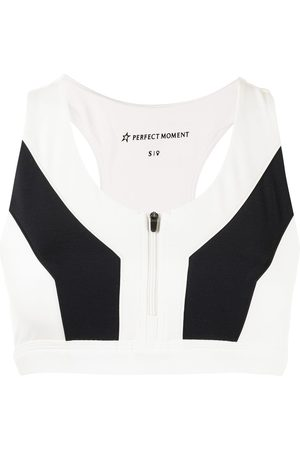 Perfect Moment Women Sports Bras - Vale rainbow fitness top