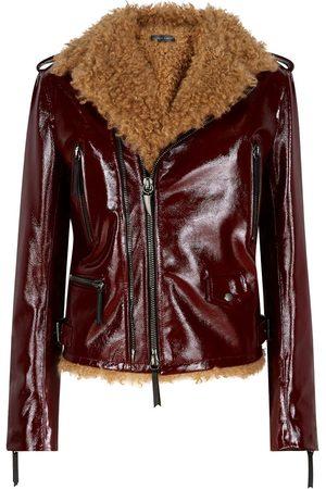 Giuseppe Zanotti Women Blazers - Amelia high-shine jacket