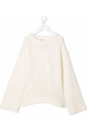 Molo Kids Girls Jumpers - Chunky-knit jumper