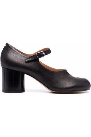 Maison Margiela Women Shoes - Tabi block-heel ankle-strap pumps
