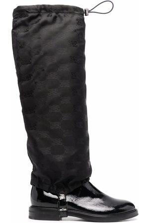 Casadei Women Knee High Boots - Patent leather knee-high boots