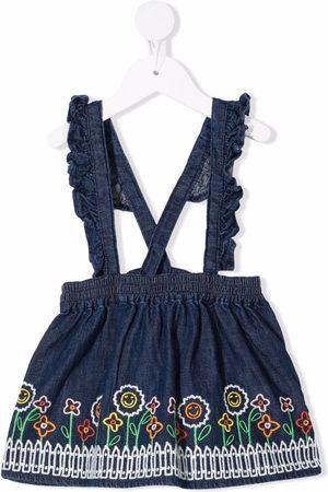 Stella McCartney Embroidered denim dress