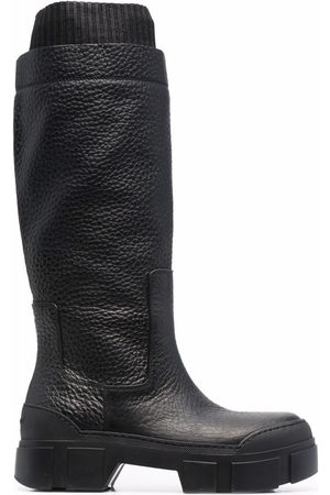 vic matiè Women Knee High Boots - Quintino knee-high leather boots