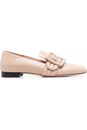 Bally Women Loafers - Janelle buckled leather loafers
