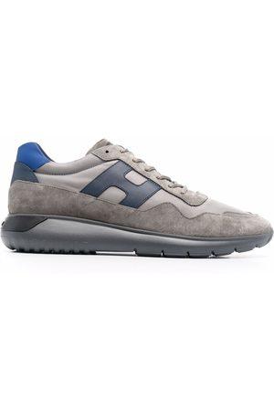 Hogan Men Sneakers - Suede-panel trainers