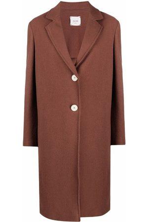 ALYSI Women Coats - Single-breasted tailored coat