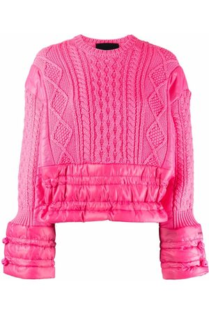 RED Valentino Women Jumpers - Panelled padded jumper