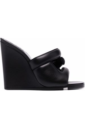 Givenchy Women Sandals - Chunky-strap leather mules