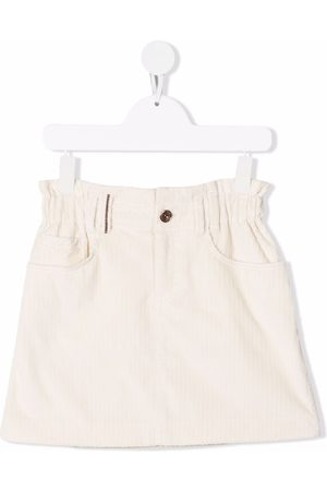 Brunello Cucinelli Corduroy mini skirt