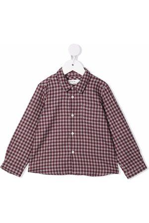BONPOINT Baby Tops - Malo checked shirt