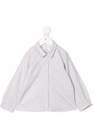 BONPOINT Pocket long-sleeved shirt