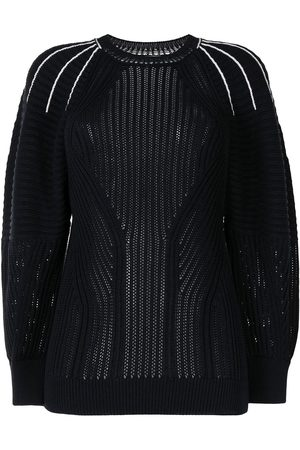 Chloé Embroidered detailing ribbed knit jumper