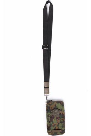 VERSACE Medusa-head phone pouch