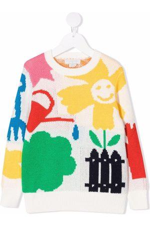 Stella McCartney Garden intarisa-knit jumper