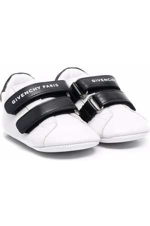 Givenchy Baby Sneakers - Logo-print touch-strap sneakers