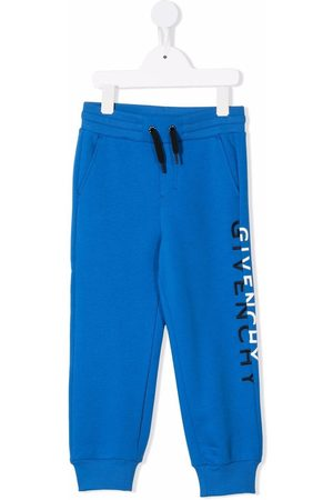 Givenchy Boys Trousers - Logo-print track pants