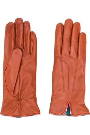 Paul Smith Smooth effect gloves