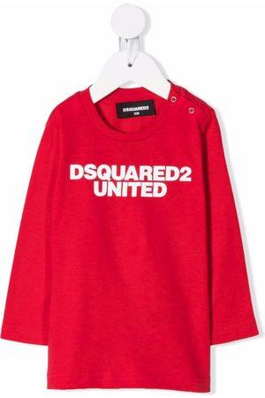 Dsquared2 Baby Long Sleeve - Logo-print T-shirt