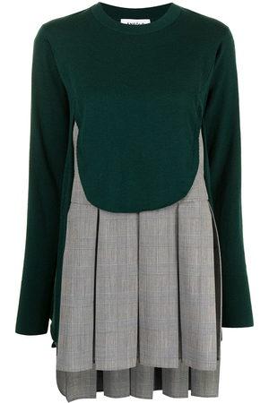 ENFÖLD Women Jumpers - Panelled fine-knit layered jumper