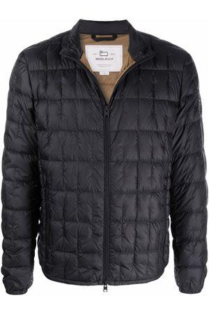 Woolrich Men Hoodies - Quilted zip-up down jacket