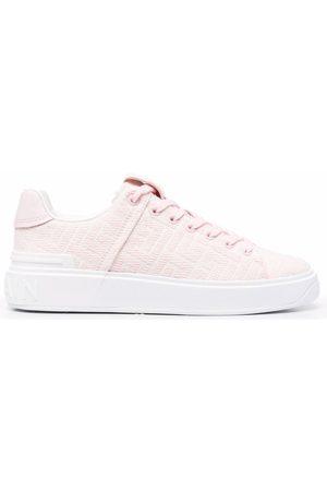Balmain B-Court lace-up sneakers