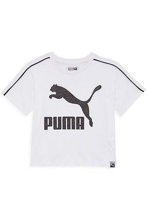 PUMA Girls Short Sleeve - Girl's Classic Logo T-Shirt