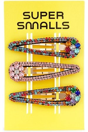 Super Smalls Girls Hair Accessories - Stargazing Embellished Snap Hair Clips