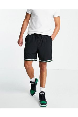 Liquor N Poker Tennis Club emblem embroidered shorts co-ord in