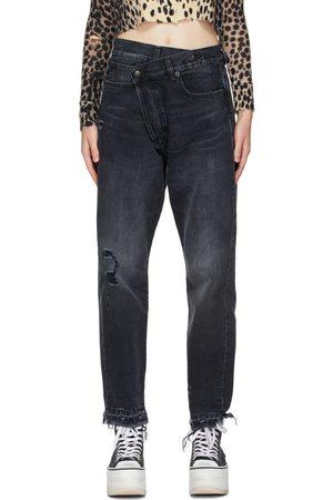 Women Jeans - R13 Cross-Over Jeans